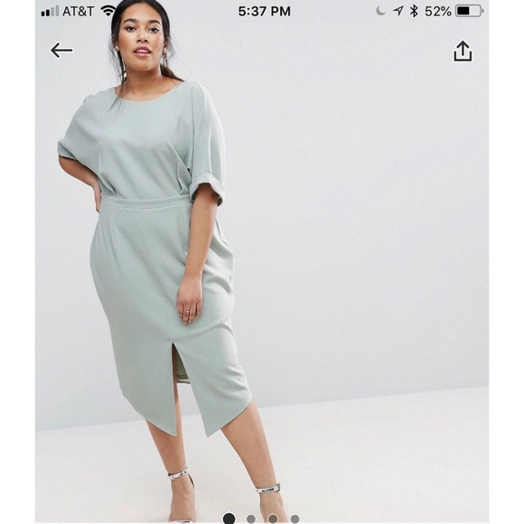 b25229f695a ASOS Dresses   Skirts - ASOS Smart Midi Dress Size 20